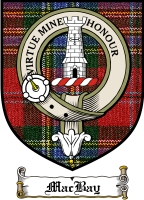 Macbay Clan Badge / Tartan FREE preview