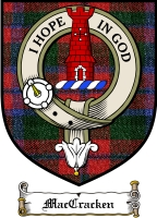 Maccracken Clan Badge / Tartan FREE preview