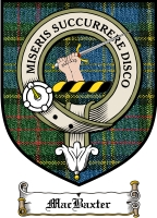 Macbaxter Clan Badge / Tartan FREE preview