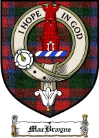 Macbrayne Clan Badge / Tartan FREE preview