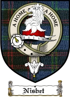 Nisbet Clan Badge / Tartan FREE preview