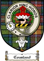 Cousland Clan Badge / Tartan FREE preview