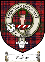Corbett Clan Badge / Tartan FREE preview