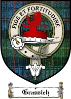 Grassich Clan Badge / Tartan FREE preview