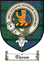 Thoms Clan Badge / Tartan FREE preview