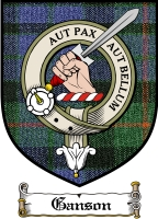 Ganson Clan Badge / Tartan FREE preview
