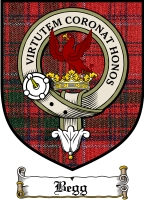 Begg Clan Macdonald Clan Badge / Tartan FREE preview