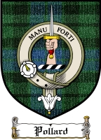 Pollard Clan Badge / Tartan FREE preview