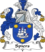 Spiers Family Crest / Spiers Coat of Arms JPG Download