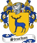 Strachan Family Crest / Strachan Coat of Arms JPG Download