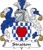 Straiton Family Crest / Straiton Coat of Arms JPG Download