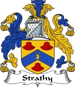 Strathy Family Crest / Strathy Coat of Arms JPG Download