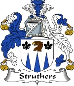 Struthers Family Crest / Struthers Coat of Arms JPG Download