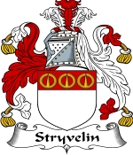 Stryvelin Family Crest / Stryvelin Coat of Arms JPG Download