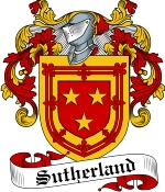 Sutherland Family Crest / Sutherland Coat of Arms JPG Download