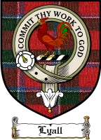 Lyall Clan Badge / Tartan FREE preview