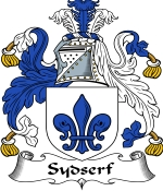 Sydserf Family Crest / Sydserf Coat of Arms JPG Download