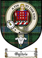 Ogilvie Clan Badge / Tartan FREE preview