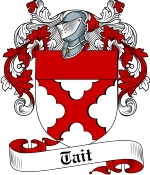 Tait Family Crest / Tait Coat of Arms JPG Download