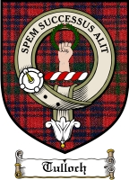 Tulloch Clan Badge / Tartan FREE preview