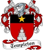 Templeton Family Crest / Templeton Coat of Arms JPG Download