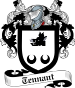 Tennant Family Crest / Tennant Coat of Arms JPG Download