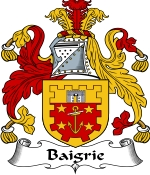 Baigrie Family Crest / Baigrie Coat of Arms JPG Download