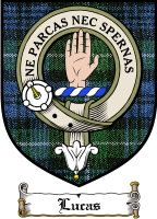 Lucas Clan Macdougall Clan Badge / Tartan FREE preview