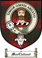 Macclelland Clan Badge / Tartan FREE preview