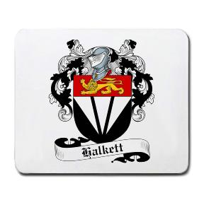 Halkett Coat of Arms Mouse Pad