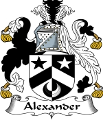 Alexander Family Crest / Alexander Coat of Arms JPG Download