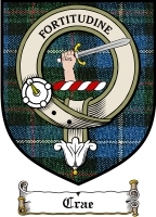 Crae Clan Badge / Tartan FREE preview