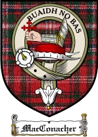 Macconacher Clan Badge / Tartan FREE preview