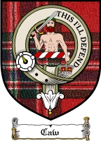 Caw Clan Stuart Clan Badge / Tartan FREE preview