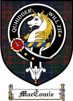 Maccomie Clan Badge / Tartan FREE preview