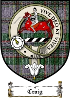 Craig Clan Gordon Clan Badge / Tartan FREE preview