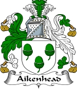 Aikenhead Family Crest / Aikenhead Coat of Arms JPG Download
