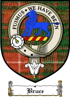 Bruce Clan Badge / Tartan FREE preview