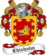 Chisholm Family Crest / Chisholm Coat of Arms JPG Download