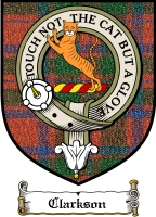 Clarkson Clan Mackintosh Clan Badge / Tartan FREE preview