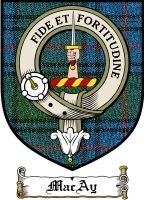 Macay Clan Badge / Tartan FREE preview