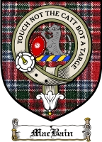 Macbain Clan Mackay Clan Badge / Tartan FREE preview