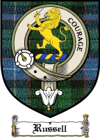 Russell Clan Badge / Tartan FREE preview