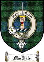 Macbain Clan Badge / Tartan FREE preview