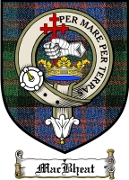 Macbheat Clan Macdonald Clan Badge / Tartan FREE preview