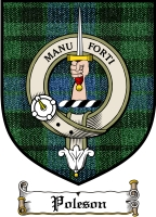 Poleson Clan Badge / Tartan FREE preview