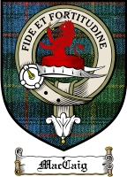 Maccaig Clan Macleod Clan Badge / Tartan FREE preview