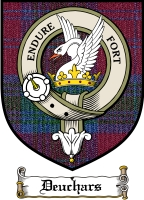 Deuchars Clan Badge / Tartan FREE preview
