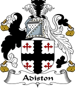 Adiston Family Crest / Adiston Coat of Arms JPG Download