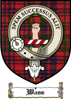 Wass Clan Badge / Tartan FREE preview